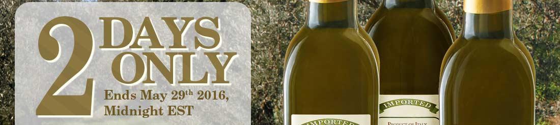Image Slice: 3 Bottles Extra Virgin Olive Oil