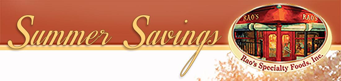Image: Summer Savings...